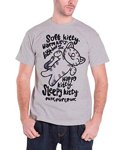 Ripple Junction Big Bang Theory Soft Kitty Adult T-Shirt