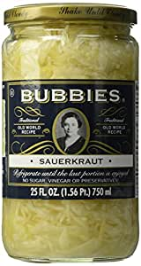 Bubbies, Sauerkraut, 25 oz