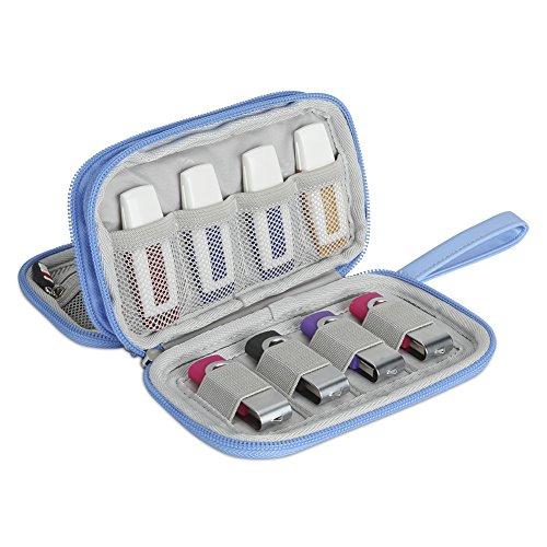 (BUBM Digital Storage Bag Electronic Accessories Bag Hard Drive Organizers Earphone Cables USB Flash Drives Travel Case)