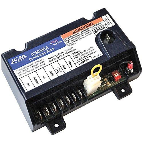 """ICM Controls ICM290A Furnace Control Board, 18-30 Vac, 2""""..."""