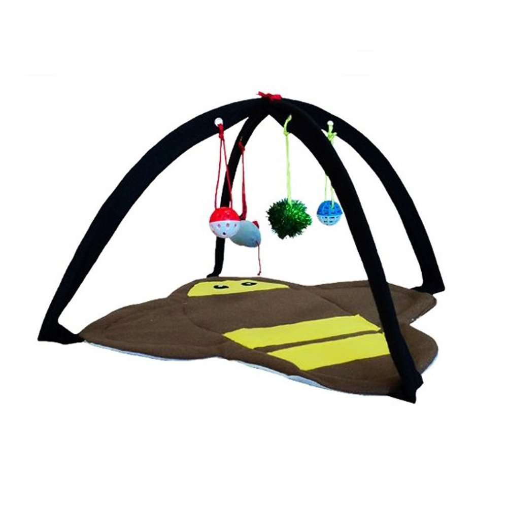 PET CAT Mobile Activity Playing Tent Toys Bed Pad Blanket House YT-72644