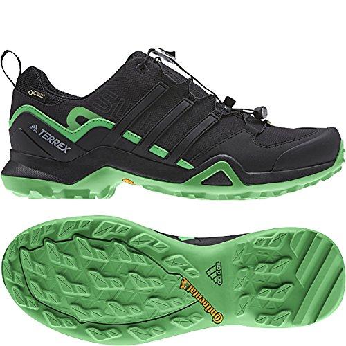 Mens Esterni Adidas Terrex Rapida Scarpa R2 Gtx (12.5 - Nero / Nero / Energia Verde)