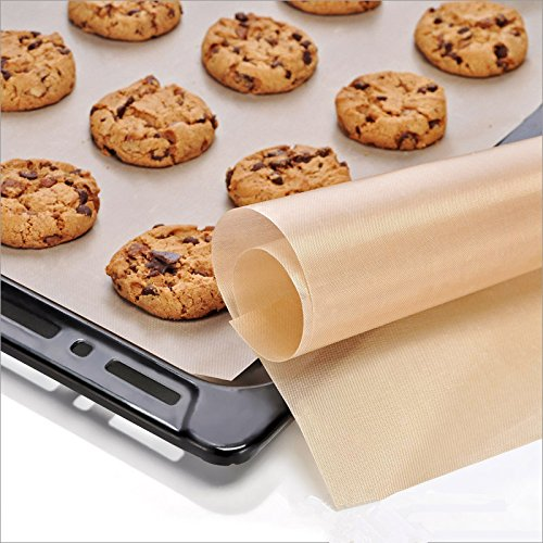 Ranger Craft Sheet - Teflon Craft Mat - Non Stick Mat For Crafts - 6040cm Heat Resistance Baking Tarpaulin Teflon Non-stick Mat Microwave Oven Cooking Pad Sheet Kitchen Bakeware Generic