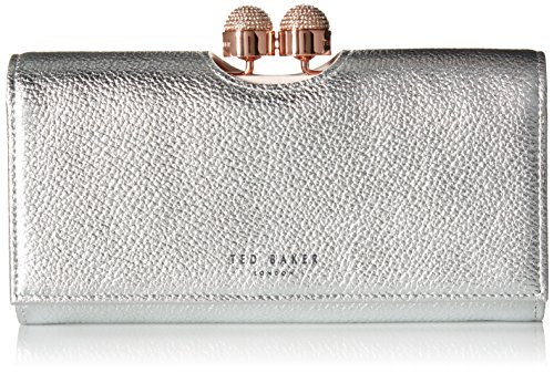 PAMELIA Wallet, SILVER, One Size by Ted Baker