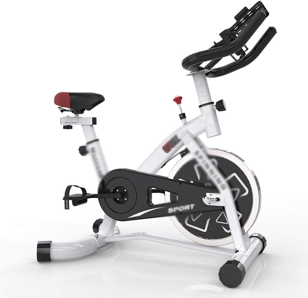 Cuerpo de plástico Mute Exercise Bike, Spinning Bike Household ...