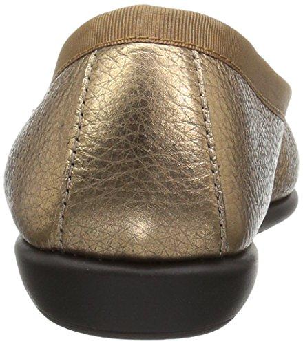 Aerosoler Kvinna Balett Platt Guld Läder