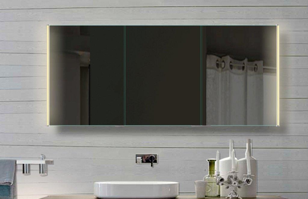 Sanviro.com | Spiegelschrank Badezimmer Holz