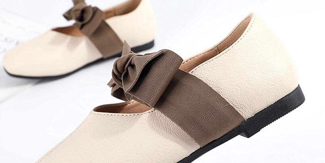 Beige 27//10 M US Little Kid Gusha Girl Mary Jane Shoes Flat Shoes Walking Shoes Baby Toddler Shoes