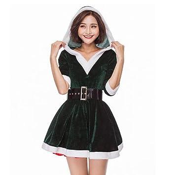 Mujer Navidad Disfraces Christmas Santa Lady Falda Cosplay ...