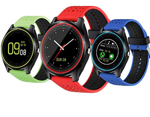 Amazon.com: V9 Bluetooth Smart Watch Sweatproof Phone with ...