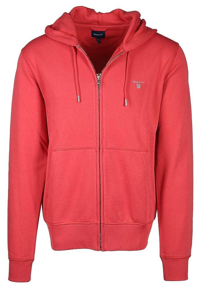 rouge 658 XXL Gant The Original Full Zip sweat à capuche Sweat-Shirt à Capuche Homme