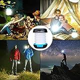 ENKEEO Solar Camping Lantern Collapsible Light