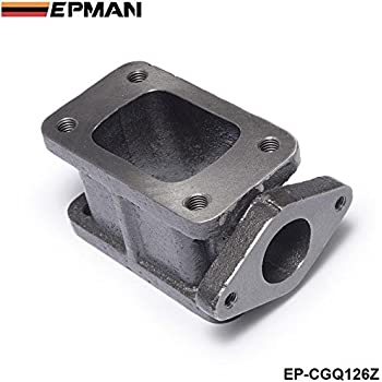 EPMAN T3 to T3 Turbo Adapter Flange Cast Iron Turbocharge Adaptor 38mm 35mm external wastegate Relocation JDM