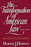 img - for The Transformation of American Law 1870 - 1960 by Morton J Horwitz (1994-12-15) book / textbook / text book