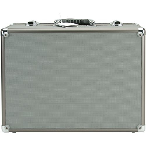 Copic Aluminum Case With Shoulder Strap-Gray](Copic Marker Carrying Case)