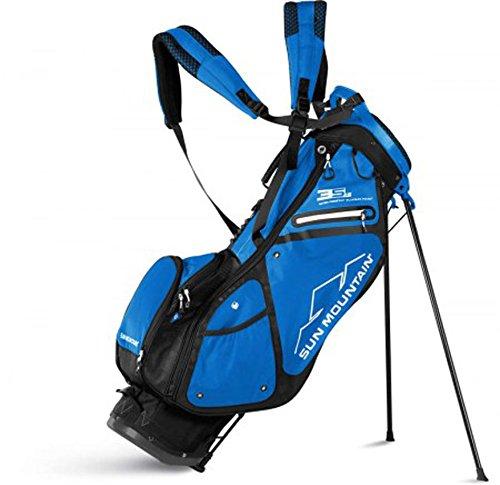 Sun Mountain Golf 2018 3.5 LS Stand Bag BLACK-COBALT (Black/Cobalt)