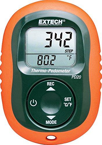 Extech PD20 Thermo Pedometer