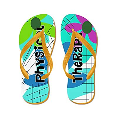 CafePress - Physical Therapist 2 - Flip Flops, Funny Thong Sandals, Beach Sandals