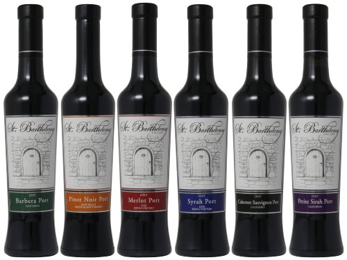 St. Barthelemy Cellars A Portal to Ports Mixed Pack, 6 x 375 mL by St. Barthelemy Cellars