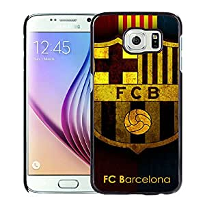 Beautiful And Fashional Designed Cover Case For Samsung Galaxy S6 With Barcelona Black Phone Case 12