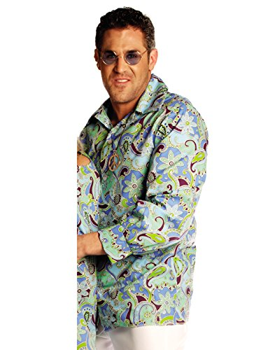 Men's Blue Groovy Disco Adult Costume (Disco Costumes For Couples)
