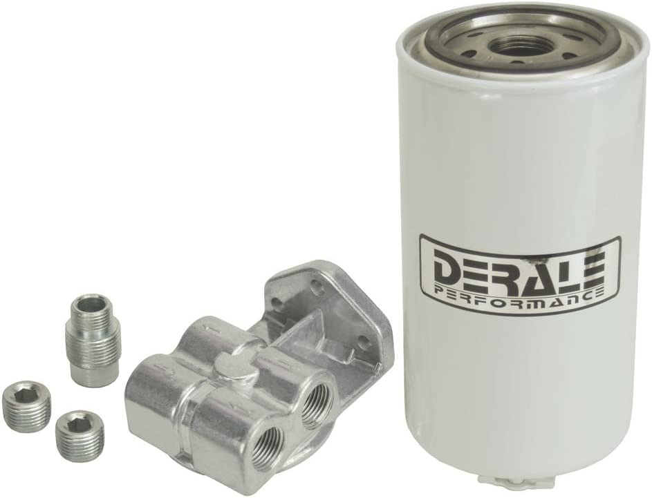 Derale Fuel Water Separator Filter 13070;