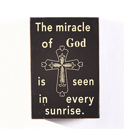 Attraction Design The Miracle Wood Antique Wisdom Sign