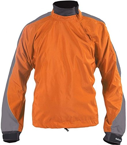 Jacket Paddling Kokatat (Kokatat Men's Tropos Super Breeze Paddling Jacket-Pumpkin-02M)