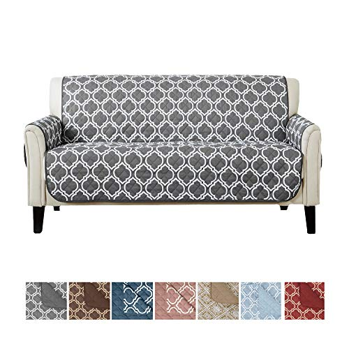 Home Fashion Designs Adalyn Collection Deluxe Reversible Quilted Furniture Protector