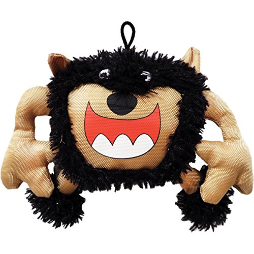 Scoochie Pet Products Monster Dog Toy|Scary Big Mouth Monster|9 Inch|Plush Dog Toy|We Squeak (Monster Mouth)