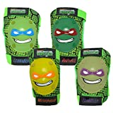 Teenage Mutant Ninja Turtles Bell TMNT Protective Knee & Elbow Padset