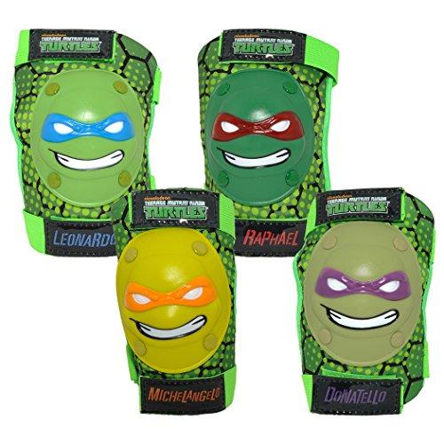 Teenage Mutant Ninja Turtles Bell TMNT Protective Knee & Elbow Padset
