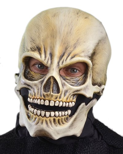 Zagone Classic Sock Skull Mask, Grim Reaper, (Very Scary Masks For Sale)