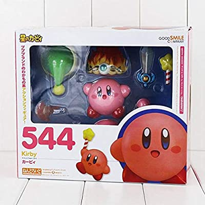 HANEUL LLC KR Anime Nendo.roid Dream Land Popopo Kirby 544 PVC Action Figure Collection Model Toy for Kids Color with Box: Toys & Games