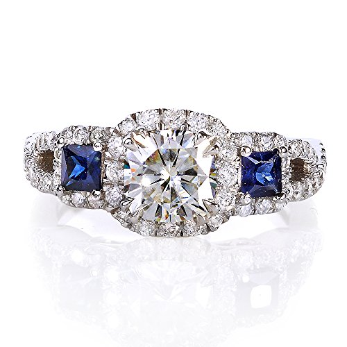 diamond near and halo pin jewels diamonds sparkle cushion rings cut colorless pinterest