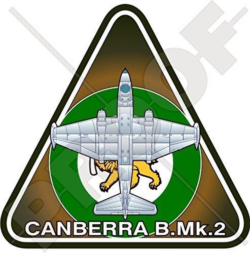 Amazon com english electric canberra b mk 2 rhodesia rhodesian airforce rhaf aircraft vinyl sticker decal 3 7 95mm automotive