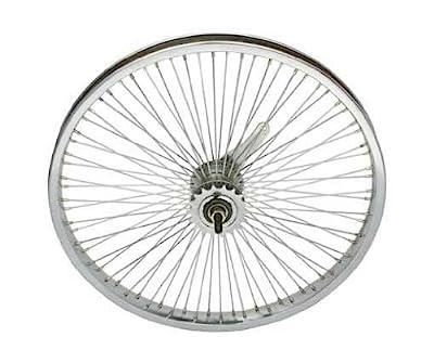"20"" 72 Spoke Coaster Wheel 14G Chrome. Bicycle wheel, bike wheel, Lowrider bike wheel, lowrider bicycle wheel, bmx, free style, chopper, cuiser, bike part, bicycle part"