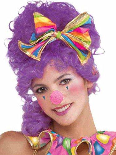Hot Pink Clown Nose (Pink Clown Costume)