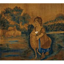 The Perfect effect Canvas of oil painting 'unknown,Mary and Her Lamb,ca.1820-1840' ,size: 18x20 inch / 46x51 cm ,this High Resolution Art Decorative Prints on Canvas is fit for Living Room decoration and Home decoration and Gifts