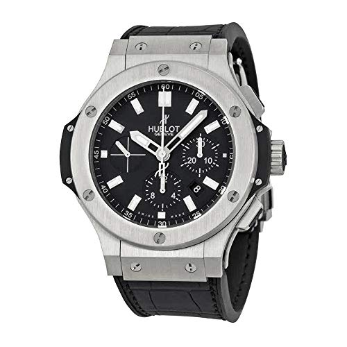 Hublot Big Bang Chronograph Automatic Black Dial Black Rubber Mens Watch 301SX1170GR ()