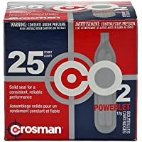 Crosman Powerlet Cartuchos de CO2, 12 g
