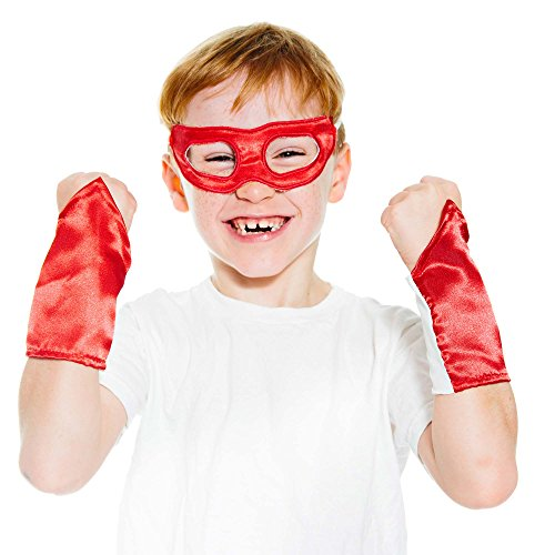 Red Superhero Eye Mask