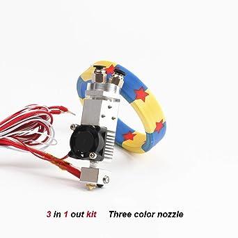 HE3D 3d - Juego de 3 piezas de impresora 3 en 1 para ...
