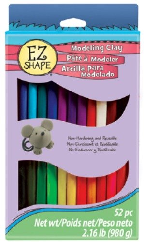 Firefly Non-Dry Modeling Clay 52 Pieces-