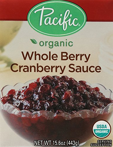 Pacific Foods Organic Whole Berry Cranberry Sauce, 15.6 oz