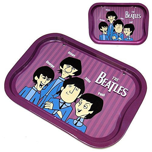 The Beatles Collectible: 2005 Vandor Decorative Animated Serving Tin Tray