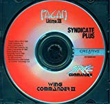 Strike Commander - Syndicate Plus - Ultimate VIII 8 Pagan - Wing Commander II (Windows/DOS CD-ROM PC Game)