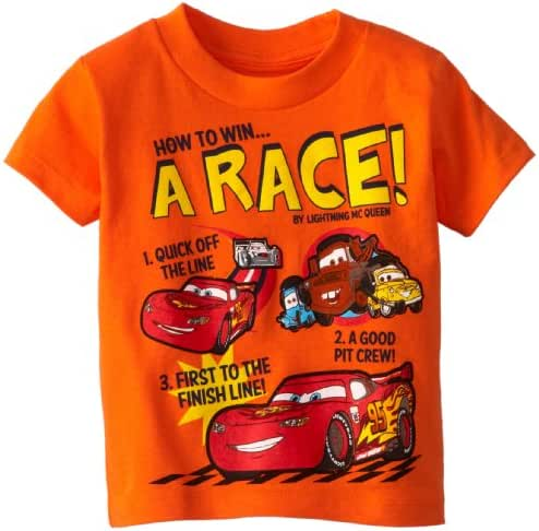Disney Cars Boys' How To Win A Race T-Shirt