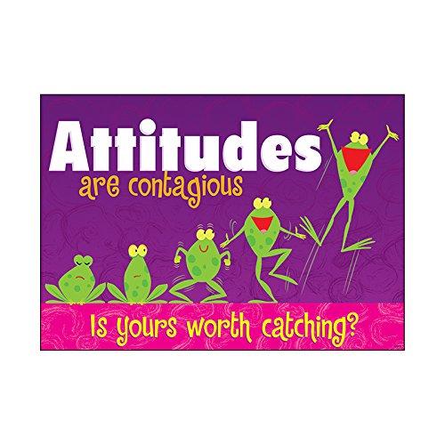 Argus Attitudes are Contagious Poster, 13.375