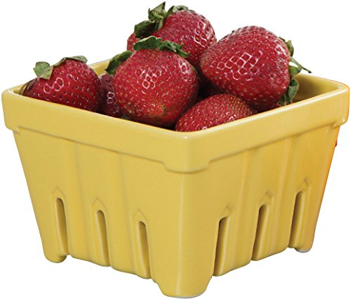 (Ceramic Fruit Stand Berry Basket)